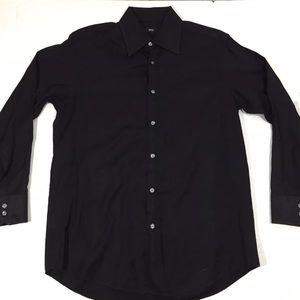 Hugo Boss Black Dress Shirt 16 32/33